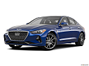 2019 Genesis G70 2.0T Dynamic, front angle medium view.