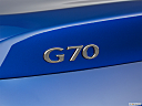 2019 Genesis G70 2.0T Dynamic, rear model badge/emblem