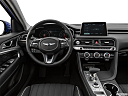 2019 Genesis G70 2.0T Dynamic, steering wheel/center console.