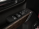 2019 GMC Sierra 1500 Denali, driver's side inside window controls.