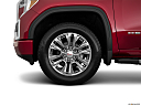 2019 GMC Sierra 1500 Denali, front drivers side wheel at profile.