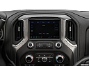 2019 GMC Sierra 1500 Denali, closeup of radio head unit
