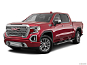 2019 GMC Sierra 1500 Denali, front angle medium view.