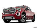 2019 GMC Sierra 1500 Denali, front angle view, low wide perspective.