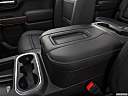 2019 GMC Sierra 1500 Denali, front center console with closed lid, from driver's side looking down