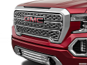 2019 GMC Sierra 1500 Denali, close up of grill.