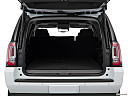 2019 GMC Yukon XL SLT, trunk open.