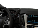 2019 GMC Yukon XL SLT, gear shifter/center console.