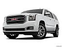 2019 GMC Yukon XL SLT, front angle view, low wide perspective.