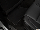 2019 GMC Yukon XL SLT, rear driver's side floor mat. mid-seat level from outside looking in.