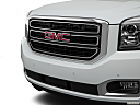 2019 GMC Yukon XL SLT, close up of grill.