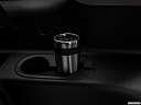 2019 GMC Yukon XL SLT, third row side cup holder with coffee prop.