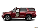 2019 GMC Yukon Denali, driver's side profile with drivers side door open.