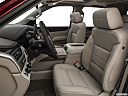2019 GMC Yukon Denali, front seats from drivers side.