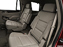 2019 GMC Yukon Denali, rear seats from drivers side.