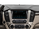 2019 GMC Yukon Denali, closeup of radio head unit