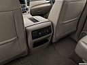 2019 GMC Yukon Denali, rear a/c controls.