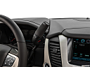 2019 GMC Yukon Denali, gear shifter/center console.