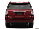 2019 GMC Yukon Denali, low/wide rear.