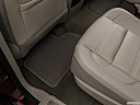 2019 GMC Yukon Denali, rear driver's side floor mat. mid-seat level from outside looking in.