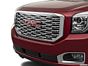 2019 GMC Yukon Denali, close up of grill.