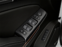 2019 GMC Yukon SLT, driver's side inside window controls.