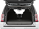 2019 GMC Yukon SLT, trunk open.