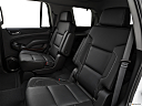 2019 GMC Yukon SLT, rear seats from drivers side.