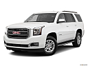 2019 GMC Yukon SLT, front angle medium view.