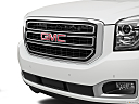 2019 GMC Yukon SLT, close up of grill.