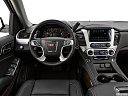 2019 GMC Yukon SLT, steering wheel/center console.