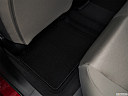 2019 Honda Accord LX, rear driver's side floor mat. mid-seat level from outside looking in.