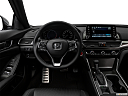 2019 Honda Accord Sport, steering wheel/center console.