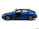 2019 Honda Civic Hatchback LX, driver's side profile with drivers side door open.
