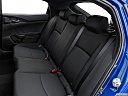 2019 Honda Civic Hatchback LX, rear seats from drivers side.