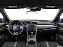 2019 Honda Civic Hatchback LX, centered wide dash shot