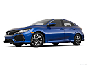 2019 Honda Civic Hatchback LX, low/wide front 5/8.