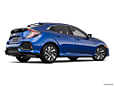 2019 Honda Civic Hatchback LX, low/wide rear 5/8.