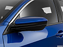 2019 Honda Civic Hatchback LX, driver's side mirror, 3_4 rear