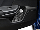2019 Honda Civic Hatchback LX, second row side cup holder with coffee prop, or second row door cup holder with water bottle.