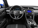 2019 Honda Civic Hatchback LX, steering wheel/center console.
