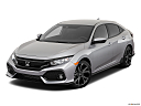 2019 Honda Civic Hatchback Sport, front angle view.