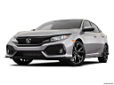 2019 Honda Civic Hatchback Sport, front angle view, low wide perspective.