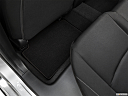 2019 Honda Civic Hatchback Sport, rear driver's side floor mat. mid-seat level from outside looking in.