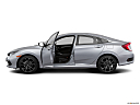 2019 Honda Civic Sport, driver's side profile with drivers side door open.