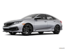 2019 Honda Civic Sport, low/wide front 5/8.