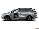 2019 Honda Odyssey Touring, driver's side profile with drivers side door open.