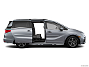 2019 Honda Odyssey Touring, passenger's side view, sliding door open (vans only).
