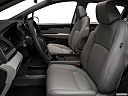 2019 Honda Odyssey Touring, front seats from drivers side.
