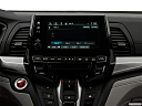 2019 Honda Odyssey Touring, closeup of radio head unit